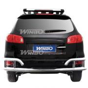 Дуга заднего бампера для Hyundai Santa Fe (2006 - 2012)