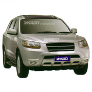 Накладка на передний бампер для Hyundai Santa Fe (2006 - 2012)
