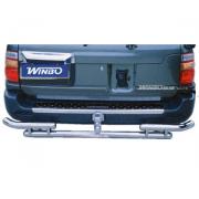 Защитная дуга заднего бампера для Toyota Land Cruiser 100 (98 - 2006)