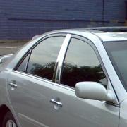 Хром на стойки дверей для Toyota Camry 30 (2002 - 2006)