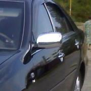Хром на зеркала для Toyota Camry 30 (2002 - 2006)