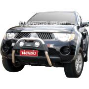 Кенгурятник с доп. фарами для Mitsubishi L200 (2006 - 2015)