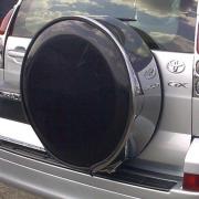 Чехол на запасное колесо для Toyota Prado 120 (2003 - 2008)