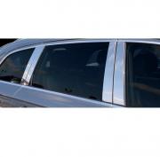 Хром на стойки дверей для Audi Q7 (2006 - 2015)