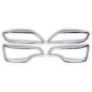 Хром фар и задних фонарей для Audi Q7 (2006 - 2015)