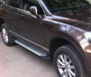 Боковые пороги для Volkswagen Touareg (2010 - ...)