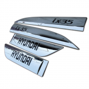 Хром на молдинги дверей для Hyundai IX35 (2009 -2015)