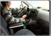 Подлокотник с термосом для Peugeot Partner Tepee (2008 - ...)
