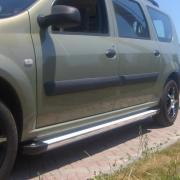 Боковые пороги для Dacia Logan MCV (2005 - ...)