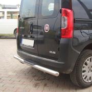 Дуга вдоль заднего бампера для Fiat Fiorino (2008 - ...)