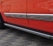 Боковые пороги для Fiat Fiorino (2008 - ...)