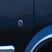 Хром на замки дверей для Ford Connect (2002 - 2009)