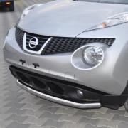 Дуга вдоль переднего бампера для Nissan Juke (2011 - ...)