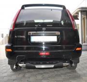 Подкова заднего бампера для Nissan X-Trail T30 (2003 - 2007)