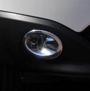 Хром на противотуманки (2010+) для Nissan Qashqai (2007 - 2014)