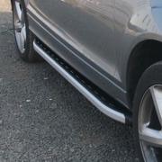 Боковые пороги для Audi Q7 (2006 - 2015)