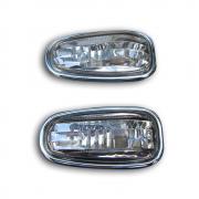 Указатели поворотов с окантовкой для Mercedes W210 (1995 - 2002)