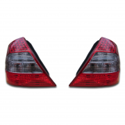 Фонари задние (темные) для Mercedes W211 (2002 - 2009)