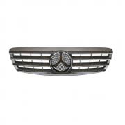 Решетка радиатора (Sport Line 98-2003) для Mercedes W220 (1998 - 2006)