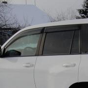 Дефлекторы дверей для Toyota Prado 150 (2018 - ... )
