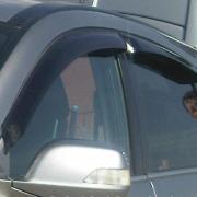 Ветровики (дефлекторы дверей) для Honda CR-V (2007 - 2011)
