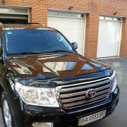 Мухобойка для Toyota Land Cruiser 200 (2007 - ...)