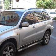 Ветровики (дефлекторы дверей) для Toyota RAV4 (2001 - 2005)