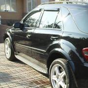 Ветровики для Mercedes ML W164 (2005 - 2011)