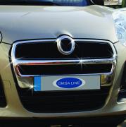 Накладка на решетку радиатора для Fiat Doblo (2010 - ...)