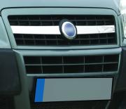 Хром накладки на решетку радиатора 2006 - 2009 для Fiat Doblo (2001 - 2009)