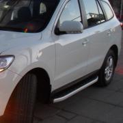 Боковые пороги (2010...) для Hyundai Santa Fe (2006 - 2012)