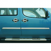 Хром на молдинги дверей (2000 - 2006) для Fiat Doblo (2001 - 2009)