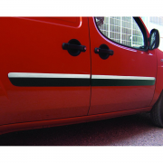 Хром на молдинги дверей (2006 - 2009) для Fiat Doblo (2001 - 2009)
