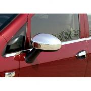 Хром на зеркала для Fiat Grande Punto (2006 - ...)