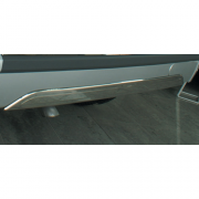 Накладка на задний бампер с торца для Ford Connect (2009 - 2014)
