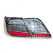 Задние фонари диодные (тонированный хром) для Toyota Camry 40 (2006 - 2011)