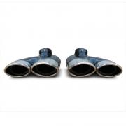 Насадка на глушитель (двойная) для Mercedes W220 (1998 - 2006)