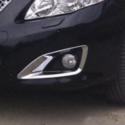 Хром на передние противотуманные фары для Toyota Corolla (2007 - 2012)