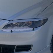Ресницы на фары для Mazda 6 (2002 - 2007)