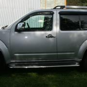 Ветровики для Nissan Pathfinder (2005 - 2010)