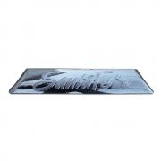 Хром накладка с надписью для порогов (2006-2011) для Hyundai Santa Fe (2006 - 2012)