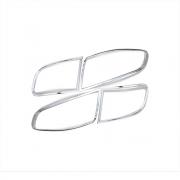 Хром на задние фонари для Hyundai Santa Fe (2006 - 2012)