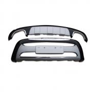 Накладка на передний и задний бампер (2010 - ...) для Hyundai Santa Fe (2006 - 2012)