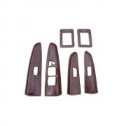 Декор на стекло-подъемники для Toyota Fortuner (2005 - ...)
