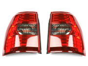 Фонари задние (на лампочках) для Mitsubishi Pajero 4 (2007 - ...)