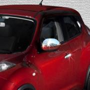 Хром на зеркала для Nissan Juke (2011 - ...)