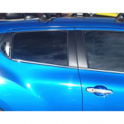 Нижние молдинги окон для Nissan Juke (2011 - ...)