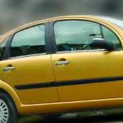 Нижние молдинги стекол для Citroen C3 (2002 - 2009)
