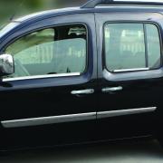 Нижние молдинги окон для Renault Kangoo (2008 - ...)