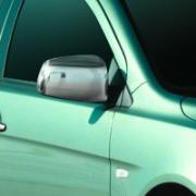 Хром накладки на зеркала для Mitsubishi Lancer X (2007 - ...)